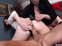 Van Wylde loves breathtakingly sexy Veronica Avluv  Veruca James  Emily AustinS soaking wet cunt and bangs her as hard as possible