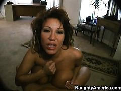 Ava Devine gets her pussy slammed rough by Matt Bixels throbbing meat stick