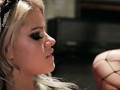 Good looking gal Jessa Rhodes tries her hardest to make horny bang buddy bust a nut with her mouth