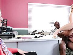 Sean Michaels attacks perfect bodied Chad DiamondS mouth with his love torpedo