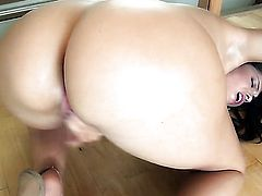 Ava Dalush touches her hole gently