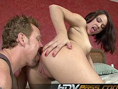 Sexy And Horny Bitch Kristina Rose Rimming