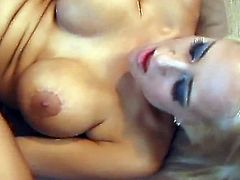 Bitchie buxom blonde Trina Michaels gonna be analfucked hard for orgasm