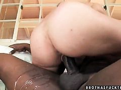 Brunette stunner Amber Rayne cant live a day without toying her muff pie