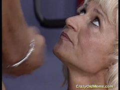 german pierced muscle mom needs hard fuck at the gym