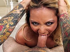 asian tigress sucking dick with passion