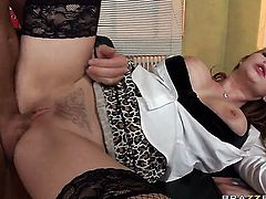 David Perry loves seductive Tarra WhiteS asshole and fucks her as hard as possible