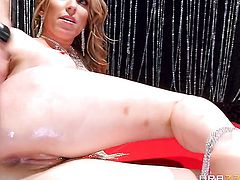 Danny D touches the hottest parts of hot blooded Courtney Cummzs body after he penetrates her backdoor after she gives blowjob