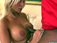 Klarisa Leone gets pounded by a huge dick