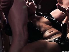 Ben English loves totally fuckable bum of Max Mikita after she gives blowjob