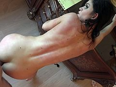 incredibly hot babe gets banged