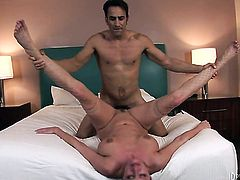 Zoe Holiday doing wild things with horny bang buddy