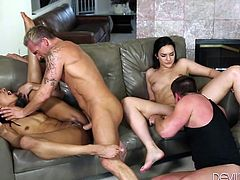 The overall atmosphere is pretty hot, as three horny pairs renounce at inhibitions and get dirty. Click to watch naughty neighbors with crazy asses and sexy bodies, getting pounded hard by their partners. Don't miss the sensational and inciting details!