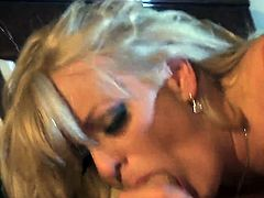 Stormy Daniels gets face fucked outrageously by hot dude
