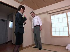Secretary goes into a business meeting and gets fucked