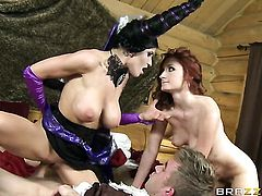 Danny D buries his erect love torpedo in unbelievably hot Violet Monroes love tunnel