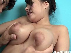 sexy japanese slut has massive knockers
