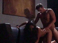 Exotic Kaylani Lei with small titties gets her hot asian pussy licked and fucked in the dark. She enjoys the warmth of her lovers hard dick deep in her tight vagina. Kaylani Lei loves hard sex.