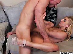 Johnny Sins is horny as hell and cant wait no more to bang Lexi Belle with his hard love stick