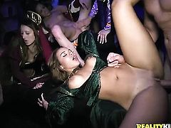 House party with a whole lot of sex