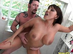 Jack Vegas cant resist horny as hell Ava Devines attraction and bangs her mouth like theres no tomorrow