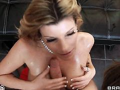 James Deen has a nice time banging Kristal Summers