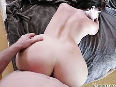Magically sexy hooker Sophie Dee with round butt and smooth twat is a hard dick addict and her fuck
