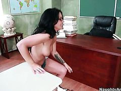 Billy Glide wants to bang delicious Madelyn Monroes wet wet spot forever