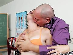 Asian Jodi Taylor takes Alec Knights fuck stick from behind