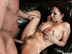 Brunette Gianna Michaels is not a whore but a porn star who loves to fuck