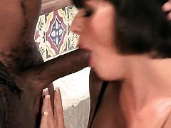 Roxanne Hall fucking with a black couple