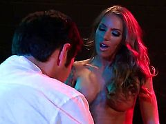 Three hot ladies are having group sex with some guys. See them fucked in amazing positions. The women make loud moaning noises in this video.