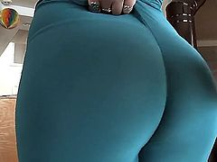 Sophie Dee is a hot porn star with a large ass. She likes to shake it in front of the camera along with some of her friends. She is really proud of her back side.