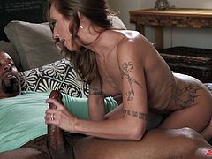 Kassie Kay likes to get on top so she can control the action
