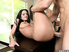 Milf Ava Addams with big ass and trimmed muff finds it exciting to be cum drenched