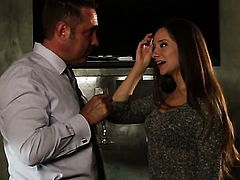 Cassidy Klein gets turned on then skull fucked