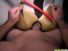 Brannon Rhodes explores the depth of lovely Jmacs throat with his cock