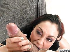 Priya Rai gets the mouth fuck of her dreams with hot dude