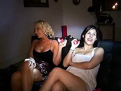 Hot bodied babe Anastasia Morna gets her mouth fucked silly by fuck hungry guy