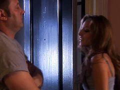 Jenna Haze is on fire in steamy oral action with hot guy