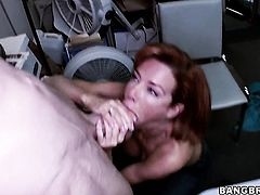 Veronica Avluv is a blowjob addict who loves guys sturdy sausage