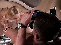 Blonde Vanda Lust is an anal addict