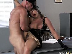 Johnny Sins cant resist breathtakingly beautiful Chanel Prestons acttraction and bangs her like craz