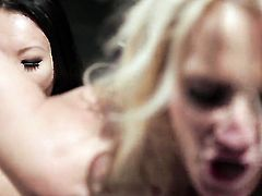 Jessica drake and Asa Akira are lesbian love birds that do it with passion and desire