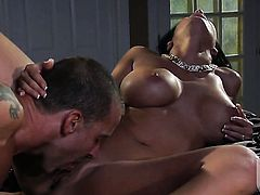 Veronica Rayne is out of control with man goo on her face