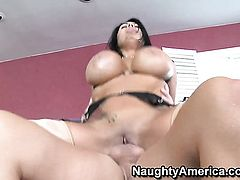 Sienna West with gigantic knockers and smooth pussy cant resist Jack Lawrences hard rod