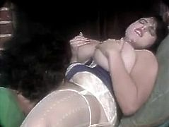 VINTAGE GIANT TITS showered by R.J.