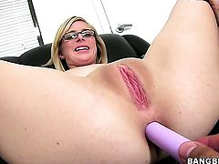 Blonde Penny Pax is a sex pro that is ready to enjoy guys meat stick in her fuck box all night long