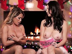 Interview by the fire with busty Capri Cavanni