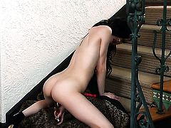 Aiden Ashley posing for your viewing pleasure in solo action